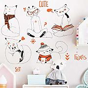 Lindo Animal Desmontable Pegatinas de Pared