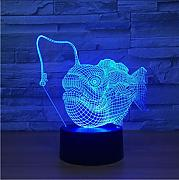 Lkfqjd Creative Night Light Led 7 Colores Vision