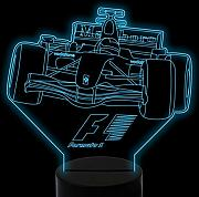 LLZGPZXYD 3D Led F1 F1 Racing Car Night Light