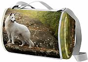 LORVIES Perro Pet Rock White Shepherd Manta de