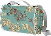 LORVIES Unicornio Decorativo Manta de Picnic Tote