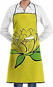 Lotus Flower Custom Unisex Kitchen Delantal con