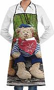 Love Bear Custom Unisex Kitchen Delantal