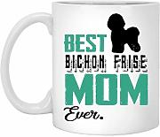 Love With Best Bichon Frise Mom In The Galaxy