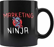 Lplpol Taza de marketer, regalo de marketing, taza