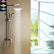 Luxurious shower 8 LED ducha de lluvia""