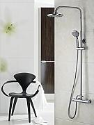Luxurious shower 8 pulgadas de lluvia ducha