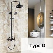 Luxurious shower Antique ducha de pared Grifo de