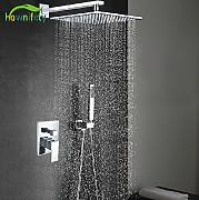 "Luxurious shower Cromo pulido 16""Grifo ducha"
