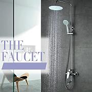Luxurious shower Grifo de bañera ducha fija
