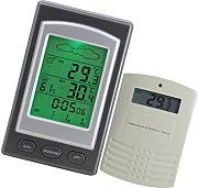 MagiDeal Digital LCD Indoor Outdoor Thermometer