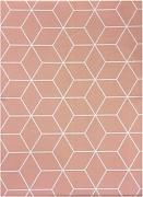 Mantel Cube Rosa 140x250 - Trends Home Selection