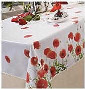 Mantel de hule 140 x 200 cm Red Poppy