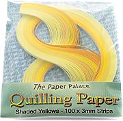 Molde Master Quilling Papel, Shaded Amarillo, 3 mm