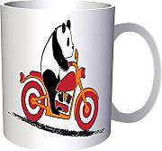 Motocicleta Happy Panda Drive 330 ml taza v835