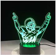 Motocross Bike Champion Man Night Lights Led Usb 7