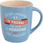 Mr. Wonderful woa08709it Taza, Porcelana,