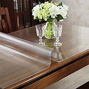 Multi-Size/Rectangular Custom Frosted PVC Table