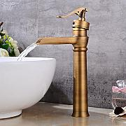 Neilyn Chrome Waterfall Faucet Vintage Basin Mixer