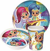 Nickelodeon Shimmer and Shine Niños de vajilla