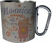 Nonnies are mommies with frosting Taza de viaje