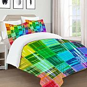 not Edredón- Ropa de Cama,Plaid Art Pattern with