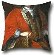 "Oil Painting Michelangelo Palloni - Portrait Of Jan Dobrogost Krasi?""ski Throw Pillow Covers 16 X 16 Inches / 40 By 40 Cm Best Choice For Teens,divan,dance Room,coffee House,deck Chair With Two Sides"