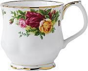 Old Country Roses by Royal Albert Montrose Taza