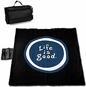 Olie Cam Life is Good Picnic Mat Totalizador