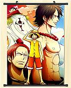 One Piece Cartel de anime japonés Desplazamiento