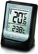 "Oregon Scientific EMR-211 - Termómetro con reloj, Bluetooth, compatible con App ""Weather & Home"", color negro"