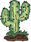 Patch Cactus Parche con Plancha Applikation