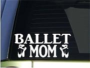 pegatina de pared 3d Ballet Mom Sticker Dance