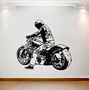 Pegatina De Pared Vinilo decorativo para moto
