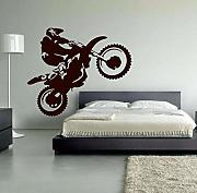 Pegatinas De Pared Motocross Vinilo Pared