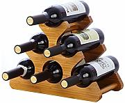 Peng sounded Wine Rack Display Apilable Y Home