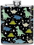petaca Cute Pattern With Dinosaurs Pattern Premium