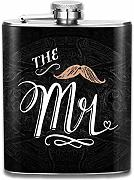 petaca Mr Gift For Couples Hip Flask Pocket