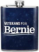 petaca Veterans For Bernie Hip Flask Pocket