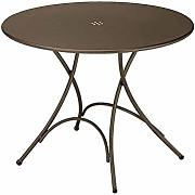 Pigalle Table mesa plegable ronda cm. 105 Art. 904