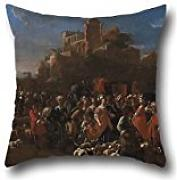Pillow Cases Of Oil Painting La Curea - Cur??e - Con Corte Regale,for Deck Chair,office,outdoor,chair,bedding,divan 18 X 18 Inches / 45 By 45 Cm(2 Sides)