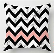 Pink Green Marble Pillow Case Geométrico