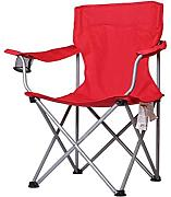 Portable Camping Chair By LDFN | Outdoor Silla Multifuncional De Hierro Fishing Four Corner Back Sillón ,Red-50*50*90cm