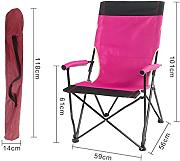 Portable Camping Chair De LDFN | Al Aire Libre Casual Multifunctional Chair Playa Sketch Iron Chair,T