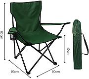Portable Camping Chair De LDFN | Outdoor Multifunctional Chair Casual Oxford Fabric Steel Silla Plegable,G