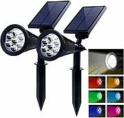 PowerKing Foco Solar LED Lámpara Exterior IP65