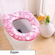 QingbToilet Mat Thick Coral Fleece   Funda de
