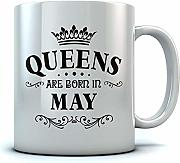 Queens are Born in May Birthday Gift for Women;