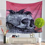 RDTFGYV Tapices Ostrich Ghost Tapestry Horror