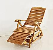 Reclinables Feifei Lounge Chair Bamboo Mecedora 5